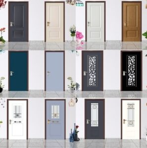 חיפוי דקורטיבי לדלתות